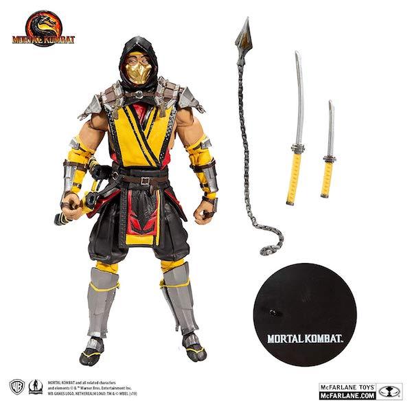 McFarlane Toys Mortal Kombat 11 Scorpion Official Product Images