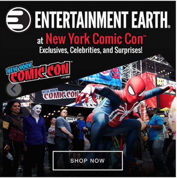 Entertainment Earth – Avengers: Endgame Pop! Vinyls, New York Comic-Con, Star Wars & New Daily Deals