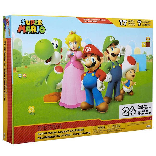 Jakks Pacific World Of Nintendo 2.5″ Figure Advent Calendar In-Stock On Amazon