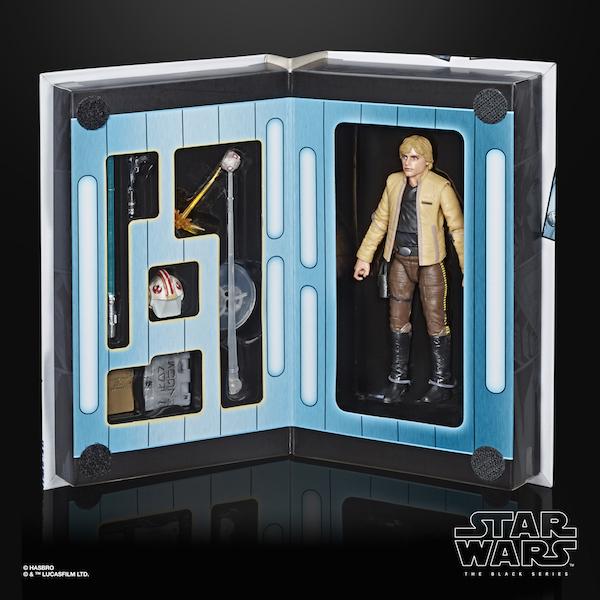 Hasbro Star Wars The Black Series Luke Skywalker (Skywalker Strikes) European Convention Exclusive