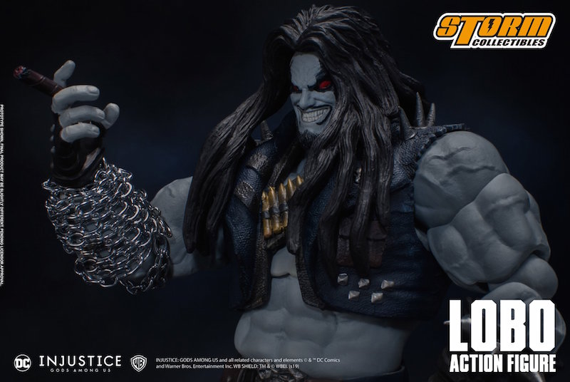 Storm Collectibles DC Injustice: Gods Among Us – Lobo Figure