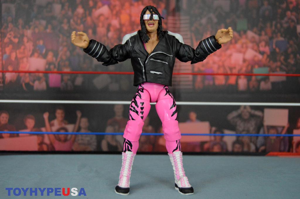 "Mattel – WWE Ultimate Edition Bret ""The Hitman"" Hart Figure Review"