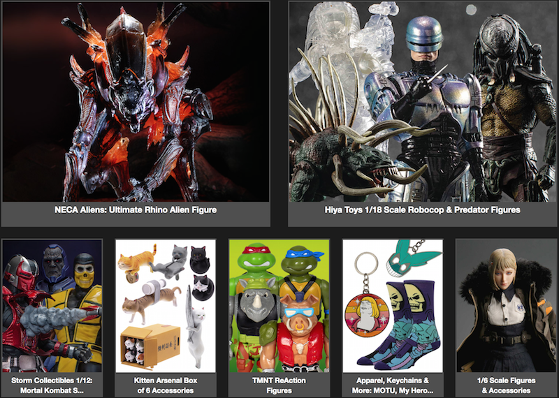BigBadToyStore News – Alien, Mortal Kombat, Darkseid, Robocop, Predator, Transformers, Stan Lee, FF7, DBZ & More