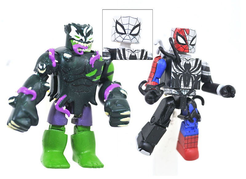 Diamond Select Toys Marvel Animated Minimates Series 10 & 11 Hit Walgreens, Plus Maximum Venom
