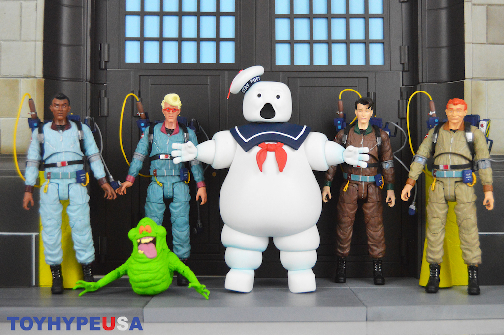 Diamond Select Toys New York Comic-Con 2019 Exclusive – The Real Ghostbusters Scared Mr. Stay Puft Review