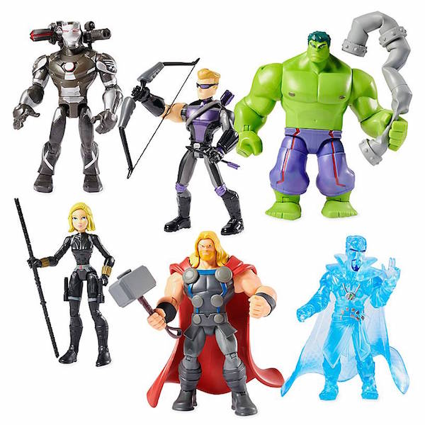 Disney Store Exclusive Marvel Toy Box Avengers Gift Set Available Now