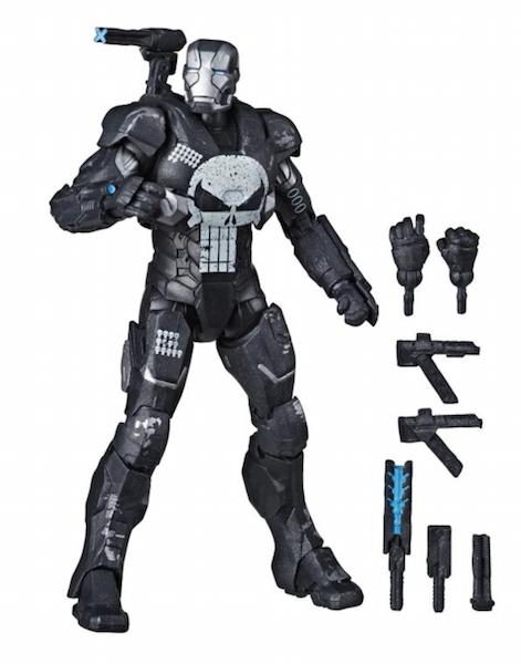 Hasbro Marvel Legends 6″ The Punisher In War Machine Armor Figure Pre-Orders On Amazon