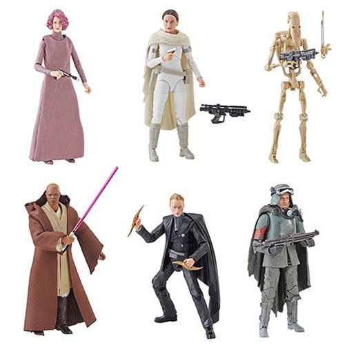 Entertainment Earth Daily Deal – Star Wars The Black Series Wave 20 Over 20% Off – $124.99