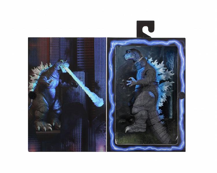 NECA Toys 2001 Atomic Blast Godzilla Re-Release Figure In-Packaging