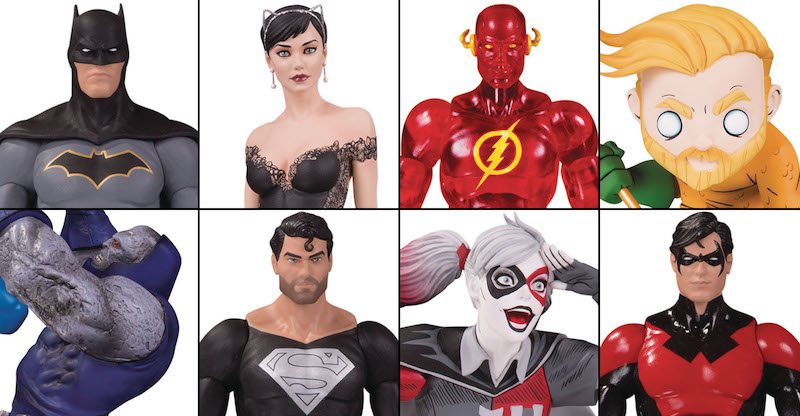 DC Collectibles Solicitations For June 2020 – DC Essentials, DC Cover Girls, DC Artists Alley, Superman Vs. Darkseid & More
