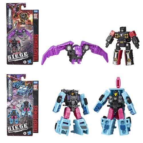 Hasbro Transformers War For Cybertron: Siege Micromasters Wave 5 Available Now