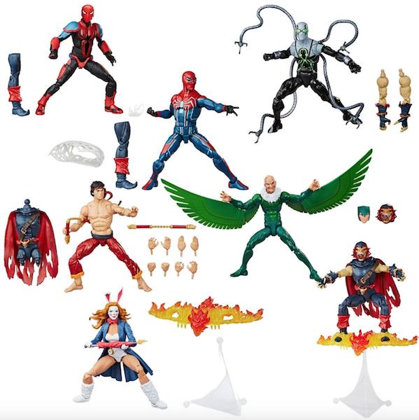 Hasbro Marvel Legends 6″ The Vulture – Demogoblin BAF Figure $19.99 On Amazon