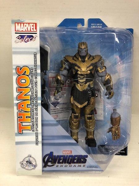 Disney Store Exclusive Marvel Select Captain Marvel & Thanos Figures