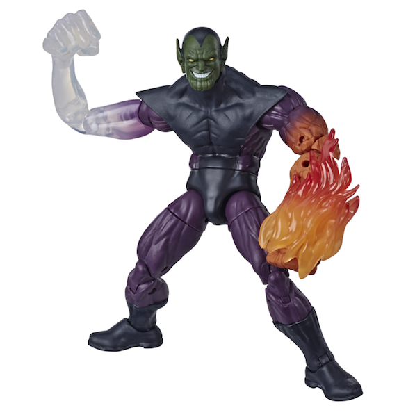 Hasbro European Convention Reveals – Marvel Legends Spy Master, BAF Super Skull & Strong Guy Figures