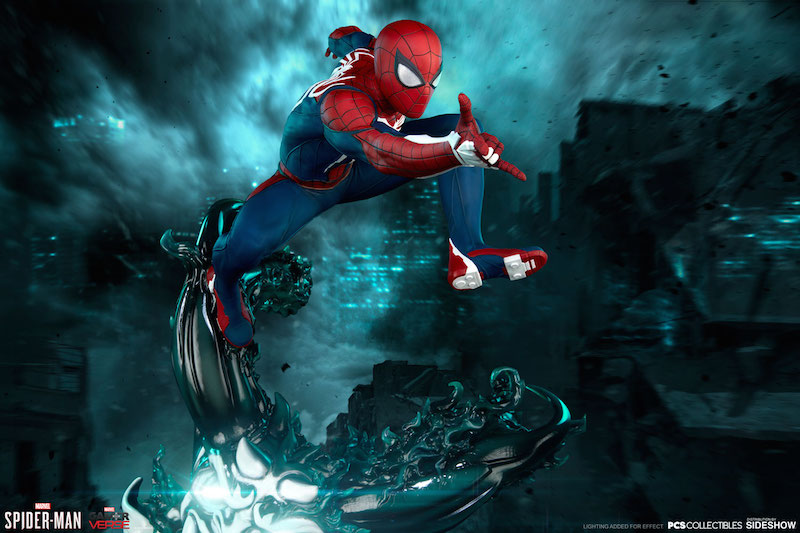 Pop Culture Shock Marvel's Spider-Man PlayStation 4 Statue Pre-Orders