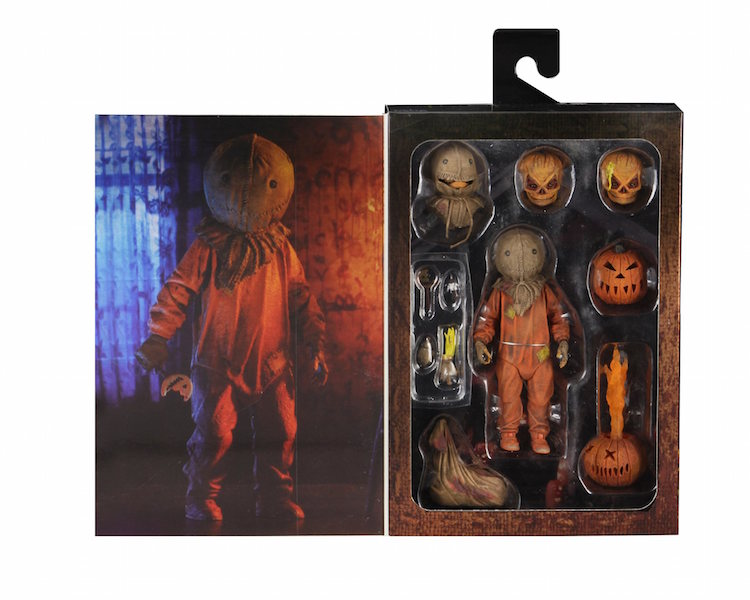 NECA Toys Trick 'r Treat 7″ Scale Ultimate Sam Figure Available Now