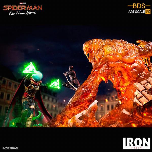 Iron Studio – Spider-Man: Far From Home – Mysterio, Molten Man & Night Monkey Statues Pre-Orders
