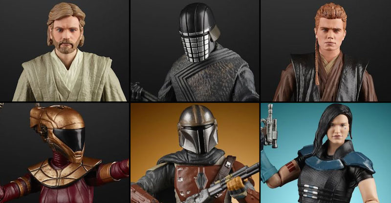 Hasbro Star Wars The Black Series & The Vintage Collection The Mandalorian 2020 Figure Pre-Orders