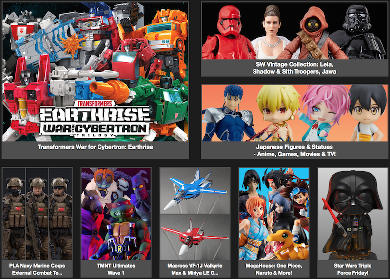BigBadToyStore News –  Star Wars Black/Vintage, One:12 Gambit, King Of Fighters, Transformers WFC:Earthrise, Mortal Kombat, Halloween, Into The Spider-verse