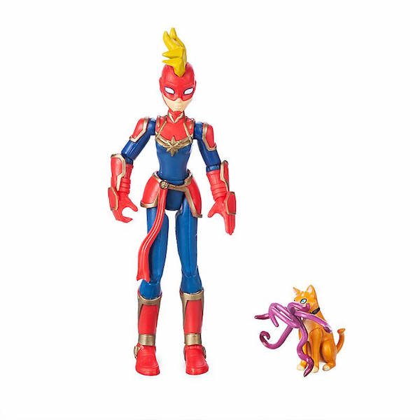 Disney Store Exclusive – Marvel Toy Box Captain Marvel & Wolverine Figures Available Now