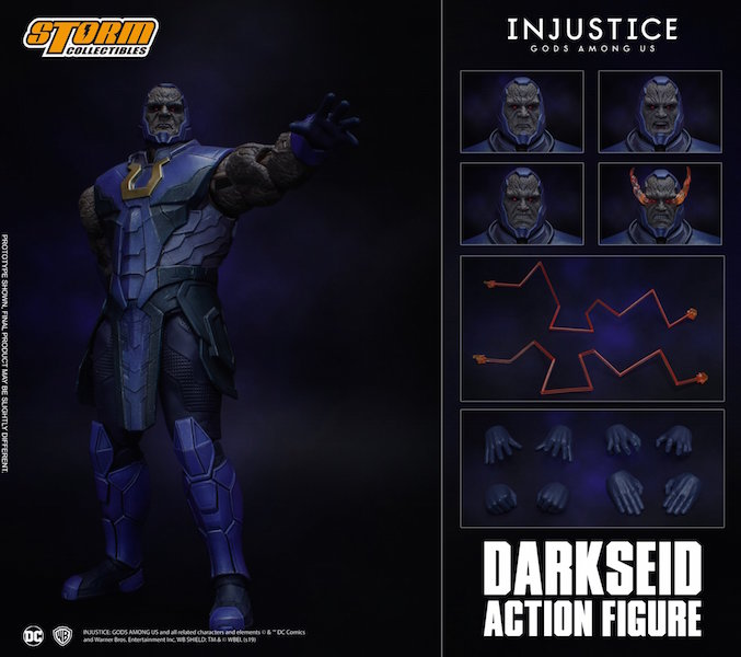 Storm Collectibles DC Injustice: Gods Among Us – Darkseid Figure