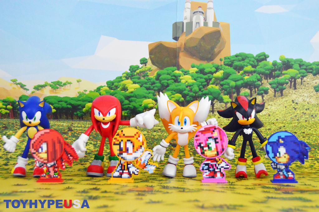 Jakks Pacific Sonic The Hedgehog Bendable Figures Review
