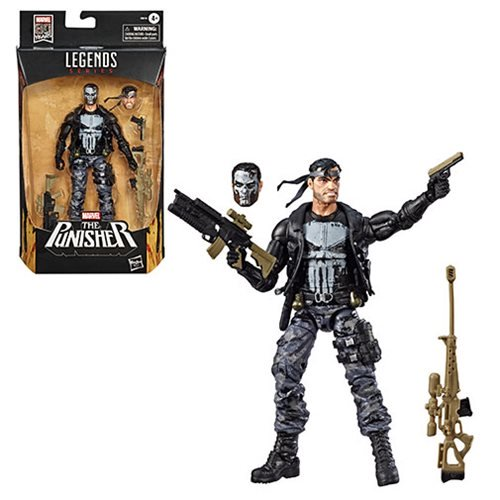 Entertainment Earth – Hasbro Marvel Legends 6″ The Punisher Figure In-Stock