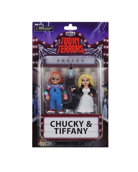 NECA Toys Toony Terrors Bride Of Chucky – Tiffany & Chucky Figures In-Packaging
