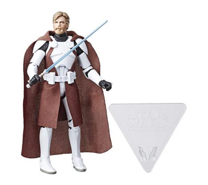 Star Wars The Black Series 6″ Walgreens Exclusive Clone Commander Obi-Wan Available Now
