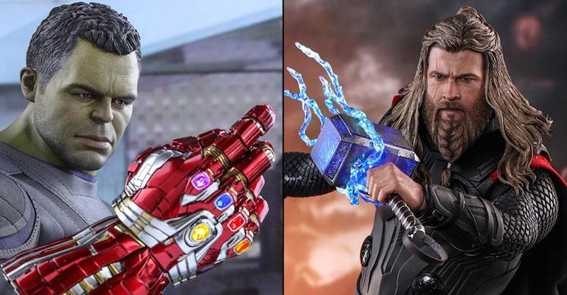 Hot Toys Avengers: Endgame Thor & Hulk Sixth Scale Figure Pre-Orders