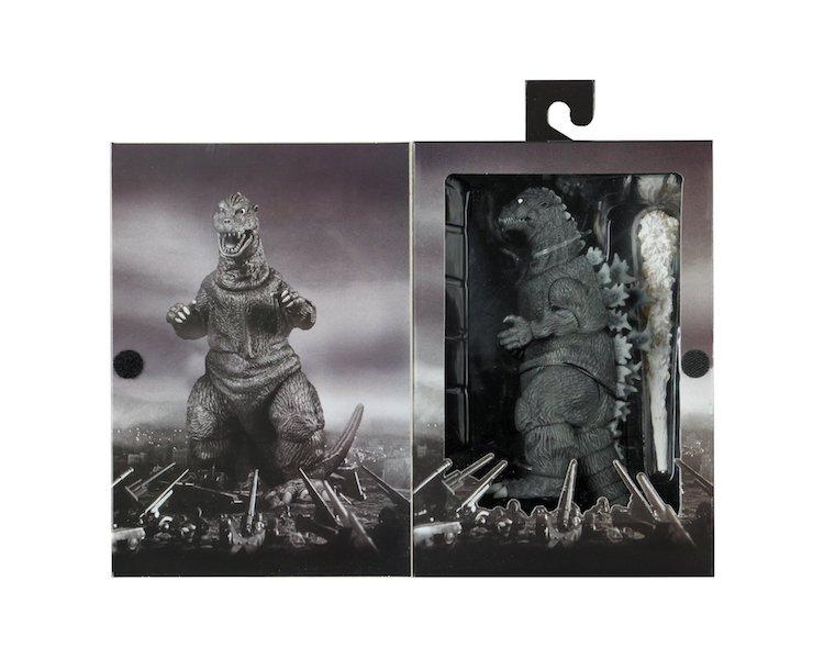 NECA Toys Godzilla 1954 Re-Release Figure In-Packaging