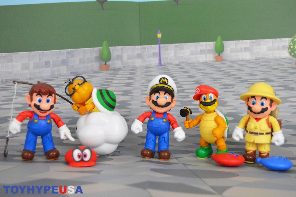Jakks Pacific World Of Nintendo 4″ Wave 15 Figures Review