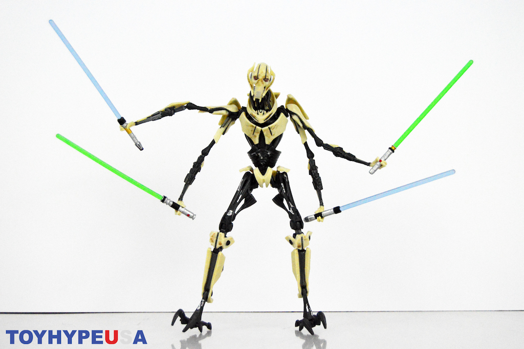 Hasbro Star Wars The Black Series 6″ General Grievous Figure Review