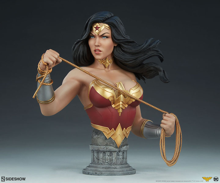 Sideshow Collectibles DC Comics Wonder Woman Bust Pre-Orders