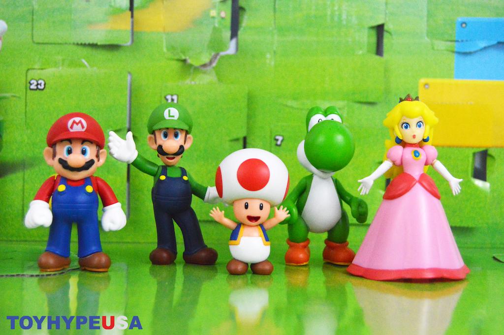 Jakks Pacific World Of Nintendo 2.5″ Figure Advent Calendar Video Unboxing & Review