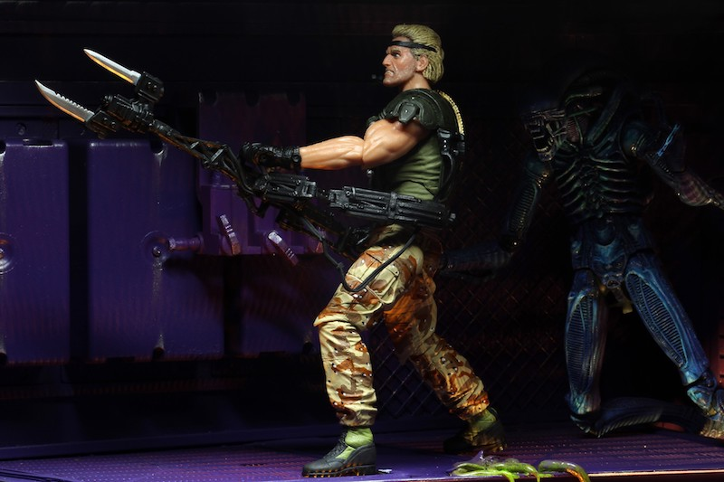 NECA Toys Aliens – Space Marine Drake Kenner Tribute Figure Available Now – Update