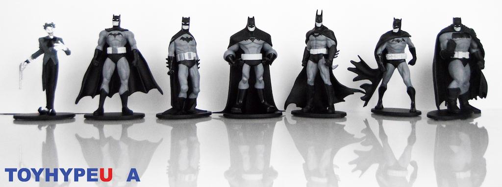 DC Collectibles Batman Black & White Mini Figure Box Set #3 Review