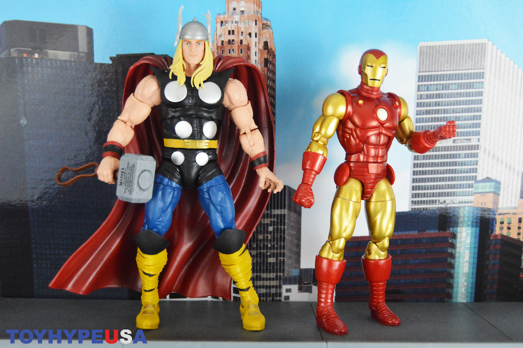 Hasbro Marvel Legends 80th Anniversary – Classic Thor & Iron Man Figures Review