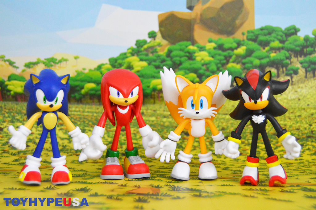 Jakks Pacific Sonic The Hedgehog Bendable Figures Review