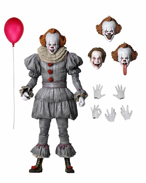 NECA Toys It Chapter Two Pennywise Ultimate Figure Available Now