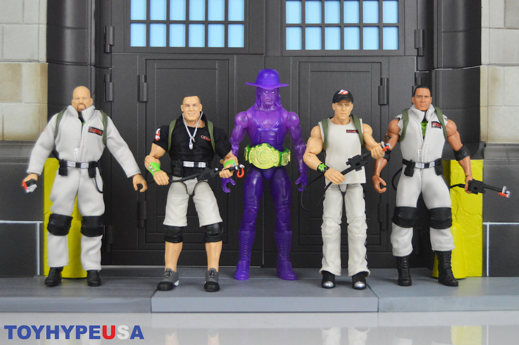Mattel WWE Ghostbusters Crossover Figures In-Stock At Wal-Mart