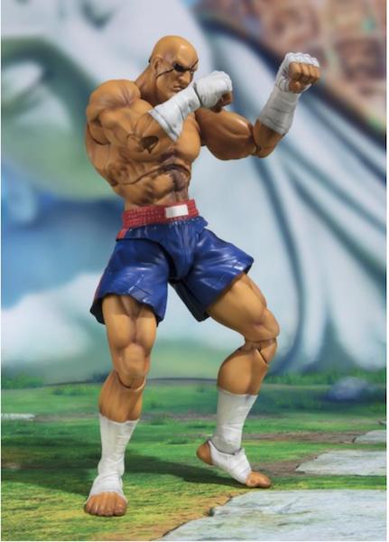 S.H. Figuarts Street Fighter V Sagat Figure Pre-Orders