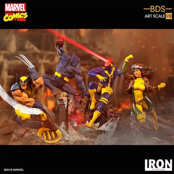 Iron Studios – Marvel Comics X-Men Battle Diorama Series Wolverine Statue Pre-Orders