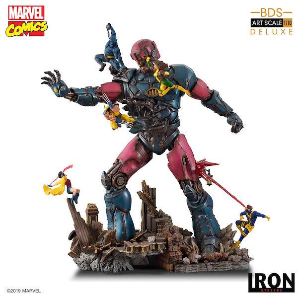 Iron Studios – Marvel Comics X-Men Vs. Sentinel 1/10th Scale Deluxe Statue Pre-Orders