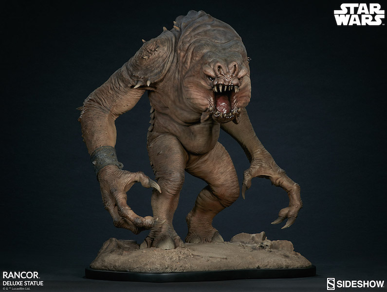 Sideshow Collectibles Star Wars Rancor Deluxe Statue Pre-Orders