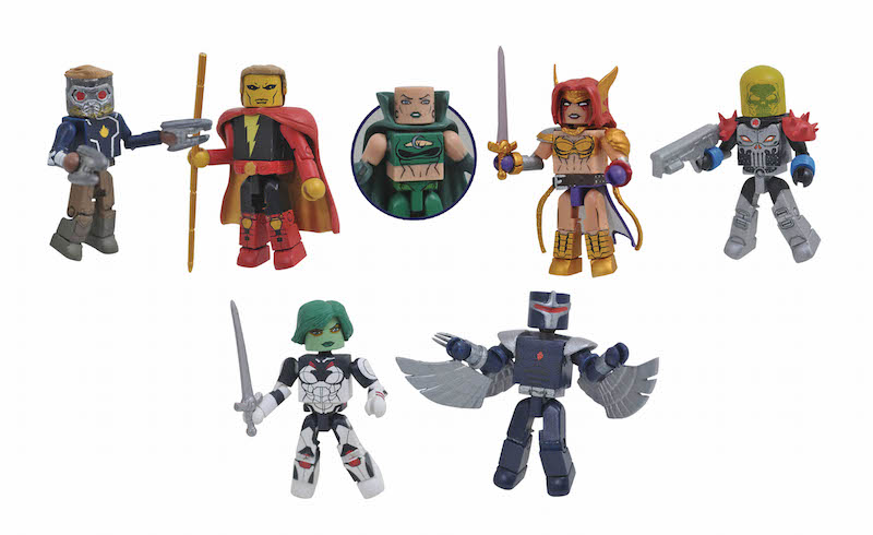 Diamond Select Toys Shipping This Week – Guardians Of The Galaxy Series 79 Minimates, The Rocketeer & Pennywise