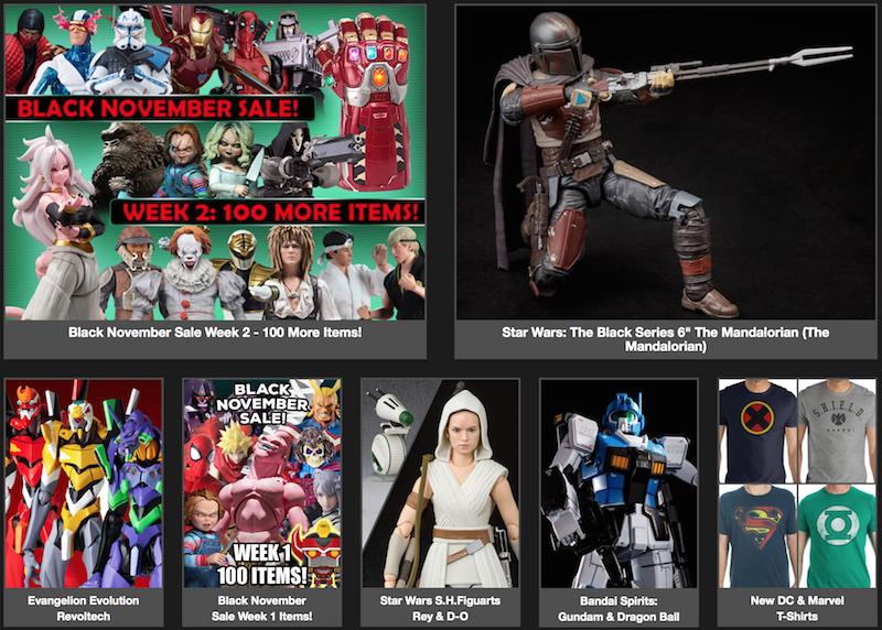 BigBadToyStore – Black November Sale, Rick & Morty, X-Men, Conan, G.I. Joe, Akira, Transformers, Star Wars & More