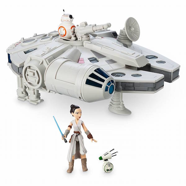 Disney Store Exclusive – Star Wars Toy Box – New Millennium Falcon, Kylo Ren & Rey Figures Available Now