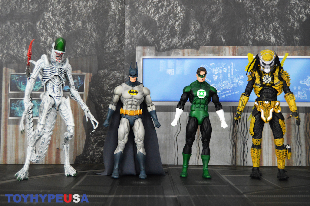 NECA Toys New York Comic-Con 2019 Exclusive – Batman & Joker Alien, Green Lantern & Sinestro Corps Predator 2-Pack Figures Review