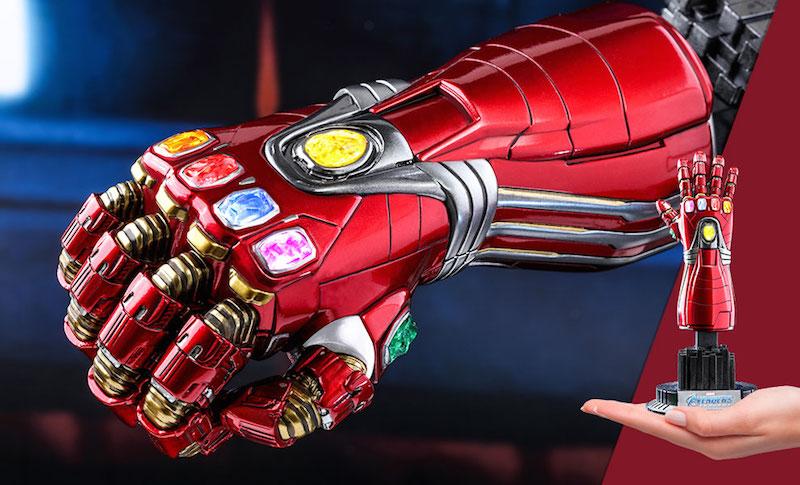 Hot Toys Avengers: Endgame Nano Gauntlet Quarter Scale Figure Pre-Orders